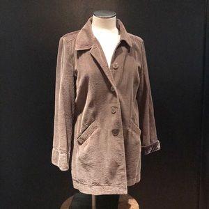 J. Jill velvet lined corduroy jacket